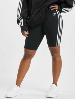 adidas Originals High Waist Short Shorts svart
