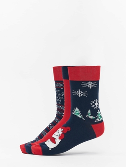 Urban Classics Christmas Socks Set Icebear