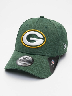 New Era Nfl Properties Green Bay Packers Shadow Tech 9forty Snapback Cap Black