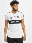 Sixth June Soccer T-Shirts White