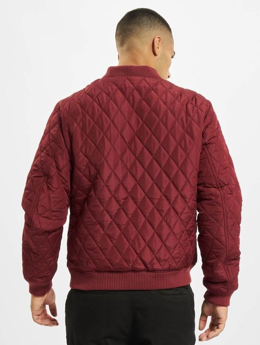 Urban Classics Diamond Quilt Nylon Lightweight Jackets image number 1