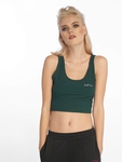 Sixth June Rib Crop Top Black