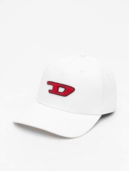 Diesel C-Digra Snapback Caps hvit