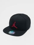 Jordan Pro Jumpman Snapback Cap Black/Black/Gym Red