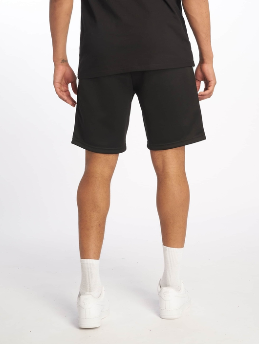 Urban Classics Side Taped Track Shorts Black/Grey image number 1
