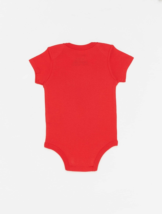 Nike Swoosh S/S Bodysuit 3 Pack University Red image number 3