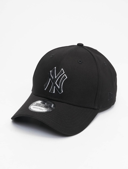 New Era Mlb Properties New York Yankees Black Base 9forty Snapback Cap Black
