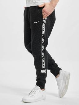 Nike M Nsw Repeat Flc Jogger Prnt Pant Black/White