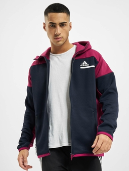 Adidas Originals Zne Aerordy Full Zip Jacket Legend Ink/Power Berry