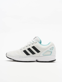 Adidas Originals Zx Flux Sneakers Ftwr White/Core Black/Blue Zest