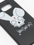 Who Shot Ya? Bunny Logo Samsung Galaxy Case Black image number 4