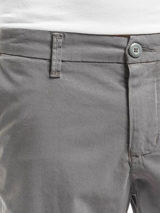 Urban Classics Stretch Turnup Chino Shorts Dark Olive image number 3
