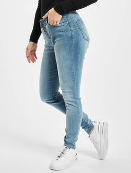 Rock Angel Skinny Jeans Light Blue Denim L143