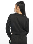 Urban Classics Multicolor Taped Sleeve Sweatshirt Black image number 1