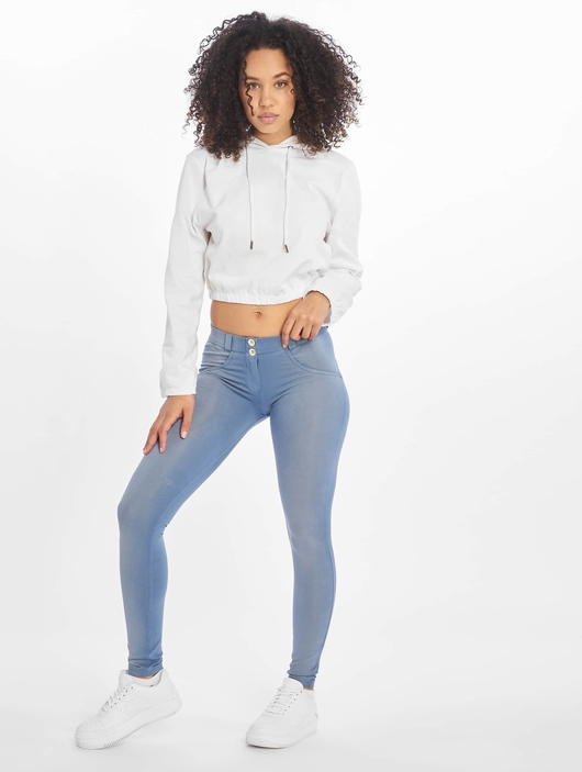 Freddy Regular Waist Super Skinny Jeans Colored image number 5