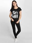 Merchcode Hustler Smoke T-Shirt Black image number 2