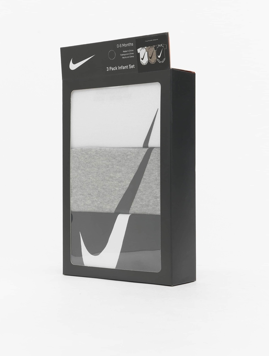 Nike Swoosh S/S Bodysuit 3 Pack White image number 2