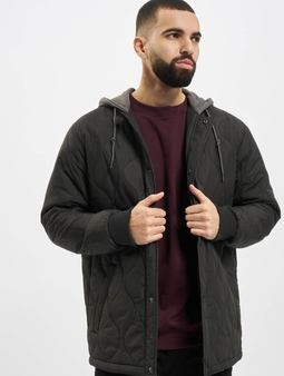 Urban Classics Quilted Hooded Jacket
