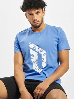 adidas Performance Dame Logo T-skjorter blå