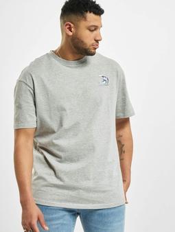 Urban Classics Big Wave T-skjorter grå