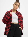Urban Classics Ladies Flanell Padded Overshirt  Lightweight Jackets image number 0
