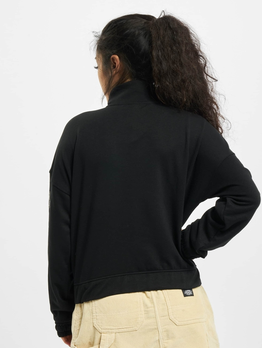 Only onlKira Life Half Zip Sweatshirt Black image number 1