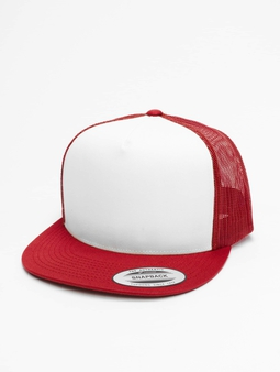 Flexfit Classic Truck Cap Red/White/Red