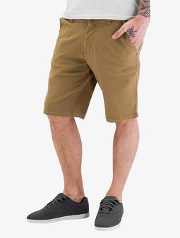 Reell Jeans Flex Grip Chino Shorts Dark Sand