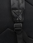 Urban Classics Imitation Leather Backpack Black image number 5