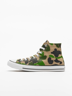 Converse Ctas Hi Sneakers Black/Candied Ginger/White