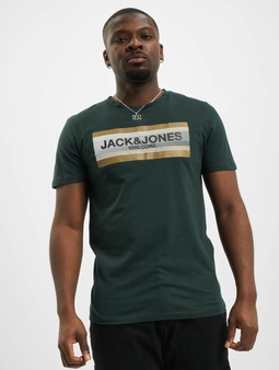 Jack & Jones jcoBooster T-Shirt Darkest Spruce/Slim Fit