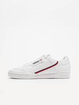 adidas Originals Continental 80 Sneakers Footwear White/Scarlet/Collegiate