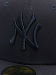 New Era MLB NY Yankees Essential 59Fifty Fitted Cap Navy image number 3