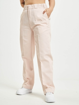 Dickies Elizaville Fitork Chino Pants Light Pink