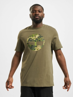 Timberland Ft Tree T-skjorter oliven