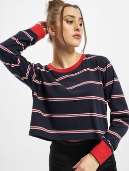 Urban Classics Ladies Short Yarn Dyed Skate Stripe LS Longsleeve