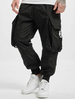 Vsct Clubwear Jupiter Baggy Cargo Pants Black