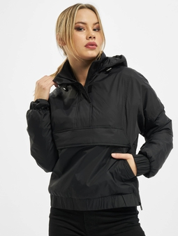 Urban Classics Ladies Panel Padded Pull Over Jacket