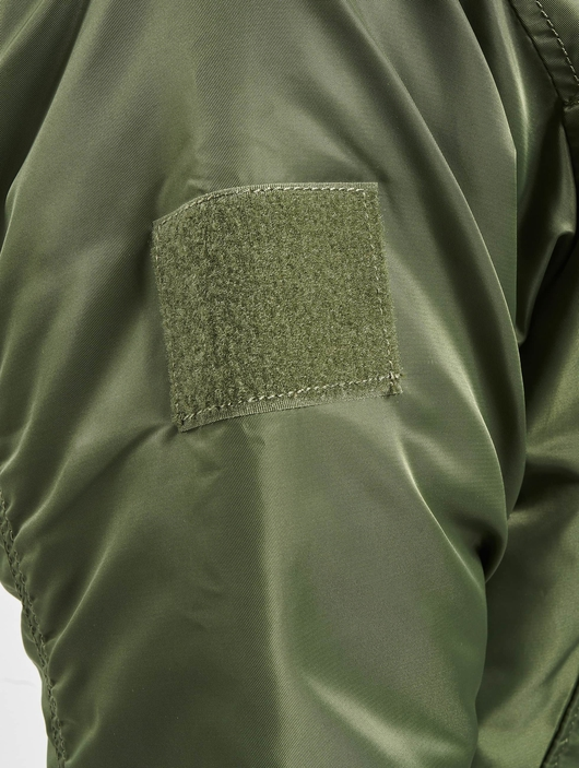Brandit MA1 Sweat Zip Hoody Olive/Grey image number 6