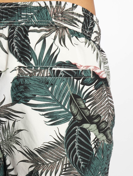 Urban Classics Pattern Resort Shorts Palm Leaves image number 4