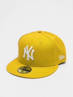 New Era MLB Basic NY Yankees 59Fifty Fitted Caps gul