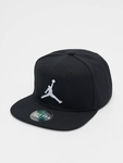 Jordan Pro Jumpman Snapback Cap Black/Black/Gym Red image number 0