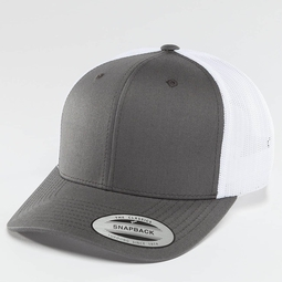 Flexfit Retro 2 Tone Trucker Cap Buck/White