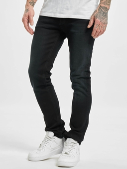 Nudie Jeans Grim Tim Straight Fit Jeans blå