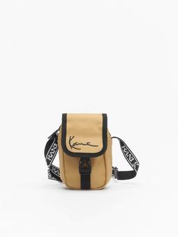 Karl Kani Signature Mini Messenger Bag Sand