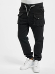 Vsct Clubwear Norman Baggy Cargo Pants Black image number 2