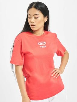 Puma OG T-Shirt Pale Pink/Black Logo
