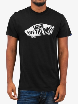 Vans OTW T-Shirt Black/White (M black)
