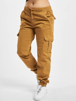 Urban Classics Ladies High Waist Cargo Jogging Pants