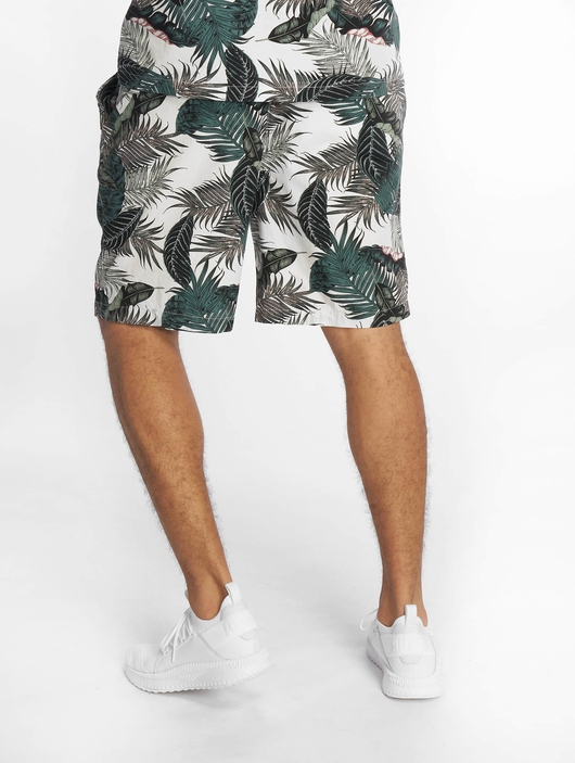 Urban Classics Pattern Resort Shorts Palm Leaves image number 1